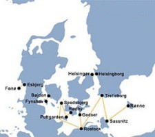 Scandlines Route Map