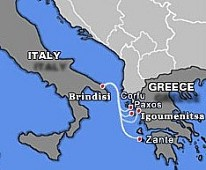European Sealines Route Map