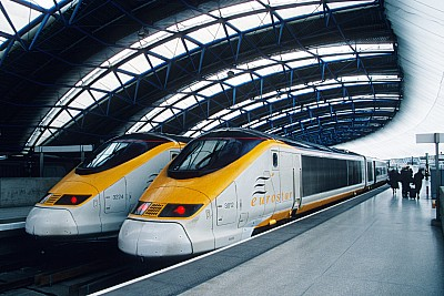 London Waterloo Eurostar